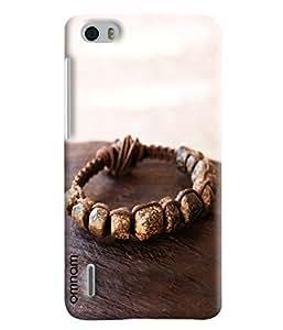 Omnam Stone Bracelet Lying On Table Designer Back Cover Case For Huawei Honor 6