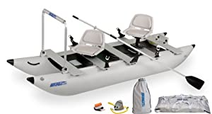 Sea Eagle 12-Foot 4-Inch FoldCat Inflatable Boat with Pro-Angler Package by Sea Eagle