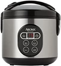 Aroma ARC-914SBD 8-Cup, Cooked Digital Rice Cooker and Food Steamer