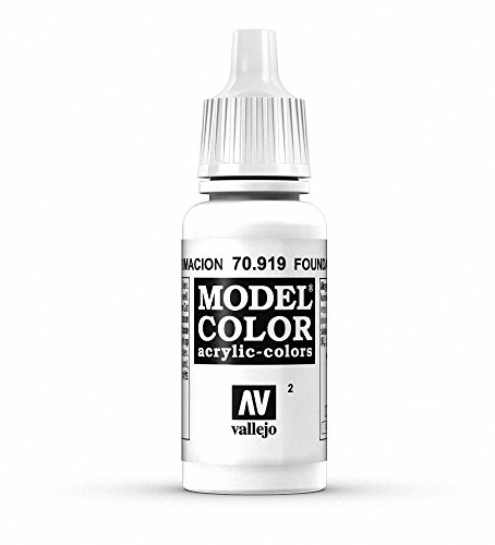 Vallejo Foundation White Paint, 17ml