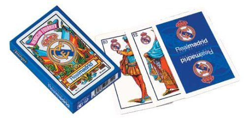 Real Madrid Spanish Playing Cards - Baraja Española