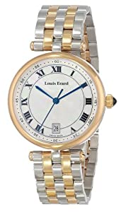 Louis Erard Women's 11810AB04.BMA27 Romance Analog Display Quartz Silver Watch