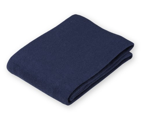 American Baby Company Cotton Terry Flat Fitted Changing Pad Cover, Navy front-229132