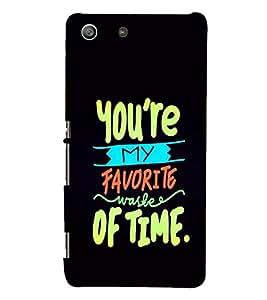 PRINTSHOPPII LOVE QUOTES Back Case Cover for Sony Xperia M5 Dual E5633 E5643 E5663:: Sony Xperia M5 E5603 E5606 E5653