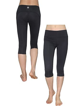Buy Balance Collection (By Marika) Ladies Skinny Leggings Yoga Capri Pants by Marika