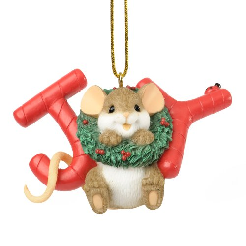 Enesco Charming Tails The Season of Sweet Joy Ornament, 2-Inch