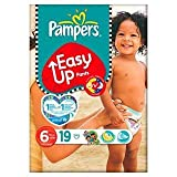 Pampers Easy Up Pants Size 6 (16+kg) Extra Large x 19 per pack