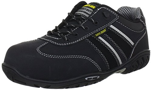Safety Jogger Safety Shoes Lauda Size 12 Black