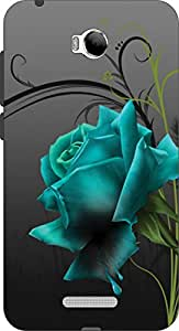John Richard High Quality Silcon UV Printed Back Cover For Micromax Canvas Spark 3 Q385 ARTICLE-38779