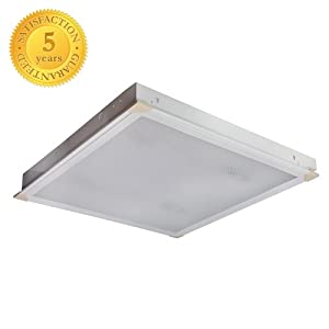 Power Star Office Ceiling Light Suspended Prismatic
