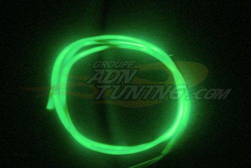 Neon Filaire - 60cm - Vert - Fibre optique - 12V - 666-CaL