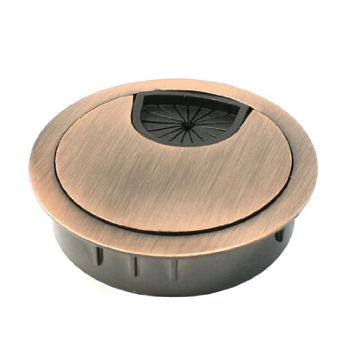 uxcell Computer Desk Metal Grommets Wire Cable Hole Round Cover (Wire Grommet For Desk compare prices)