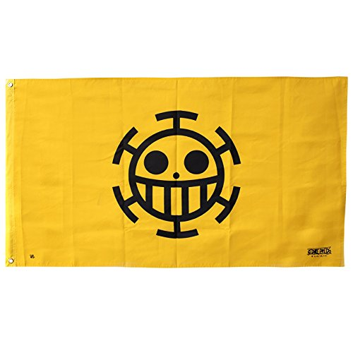 Abystyle - Bandiera One Piece - Trafalgar Law Flag -120X70