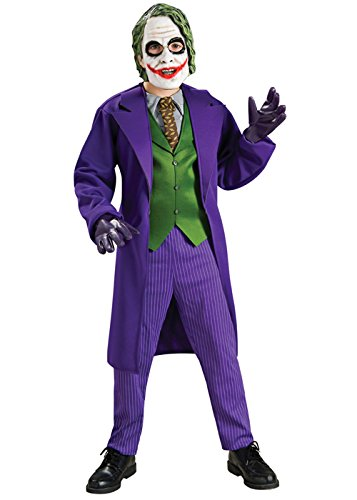 Kids Deluxe The Dark Knight Joker Costume Medium (5-7yrs)
