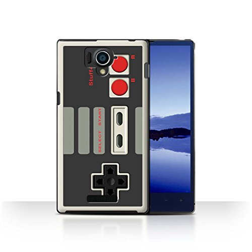 STUFF4 Phone Case / Cover for Sharp Aquos Xx 304SH / Nintendo Classic Design / Games Console Collection (Sharp Aquos Nintendo Case compare prices)