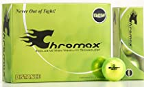 Chromax High Visibility Distance Golf Balls, Green