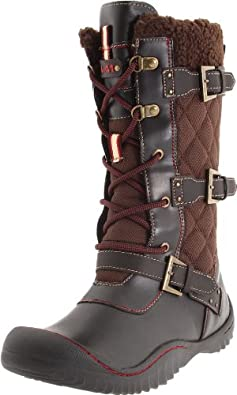 J-41 Women's Mountaineer-Vegan Boot,Brown,6 M US
