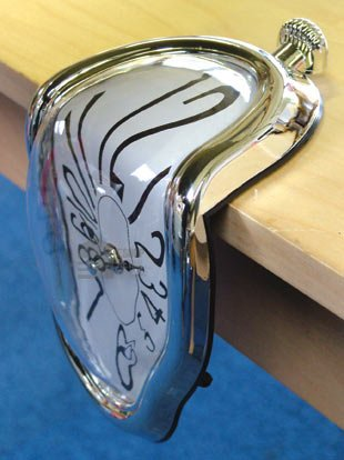 Great Ideas Salvador Dali 'Melting' Clock - Quartz