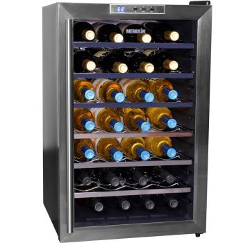NewAir AW-281E 28 Bottle Wine Cooler