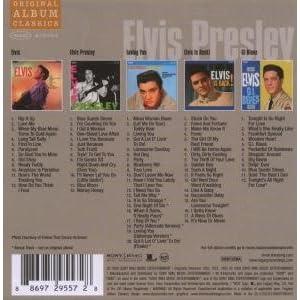 Original Album Classics: Elvis/Elvis Presley/Loving You/Elvis Is Back/Gi Blues