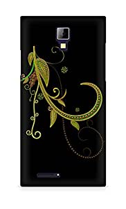 AMEZ Abstract Dark 24 Back Cover For Micromax Canvas Express A99