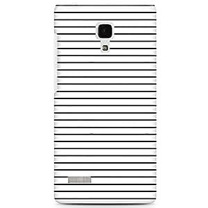 CASE U Minimal lines Designer Case for Xiaomi Redmi Note