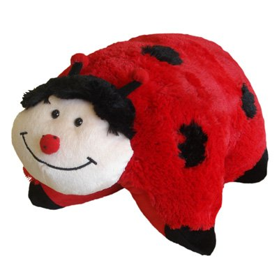 Pillow Pet Soft Toy, Lady Bird, 30 x 50 Cm