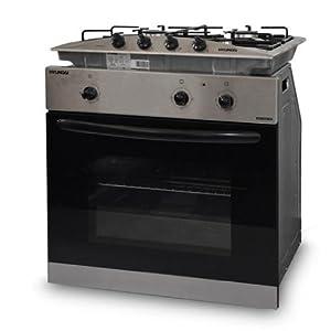 Hyundai forno elettrico con fornelli a gas set piano cottura completo 2200 watt classe a - Cottura forno a gas ...