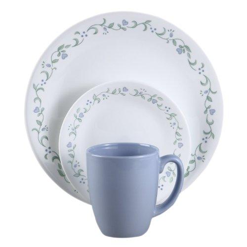 Corelle Livingware 16-Piece Country Cottage Design Dinnerwar