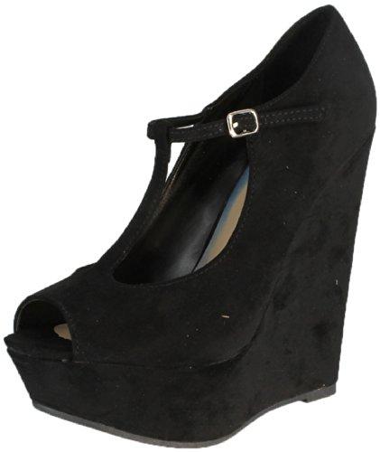 T Strap High Heels
