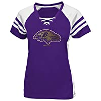 Baltimore Ravens Purple Draft Me VII Womens Jersey Top by Majestic