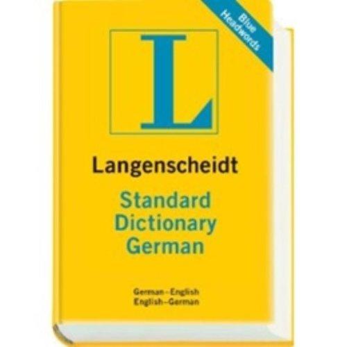 Langenscheidt Standard Dictionary German: German -...