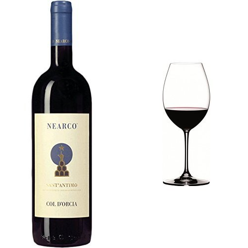 Col D'Orcia Nearco Sant'Antimo D.O.C 2006 & 2 x Riedel Vinum XL Syrah Red Wine Glass