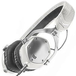 V-Moda XS On-Ear Folding Headphones (White Silver)