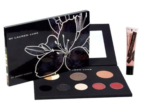 Lauren Luke Lauren Luke Full Face Makeup Palette and My Glossy Lips, LL801-1 My Smokey Classic, 11.4 Ounce