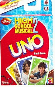 UNO - High School Musical 2 - Jeu de Cartes