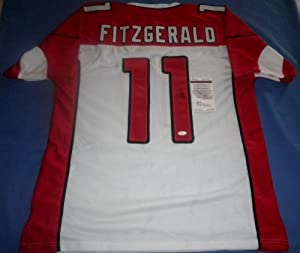 LARRY FITZGERALD Signed Jersey - JSA Witnessed - Autographed Arizona Cardinals by Signed Jersey