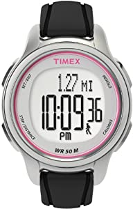 Timex Womens T5K636L3 All Day Tracker Monitors Steps Calories Distance Digital Dial Watch