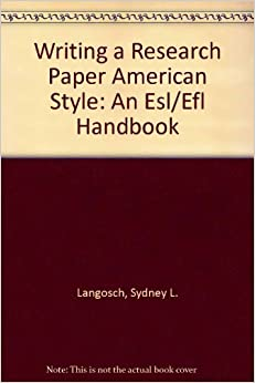 writing research paper handbook 8th edition