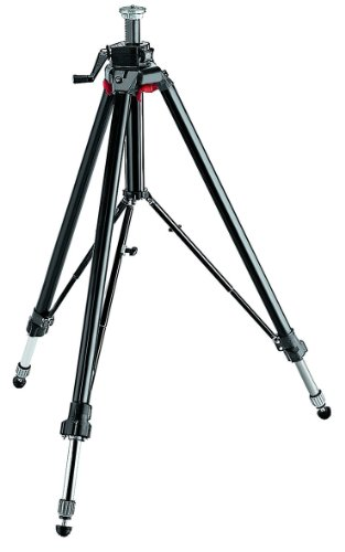 Manfrotto 058B Studio Camera Tripod With Leg Braces - Black