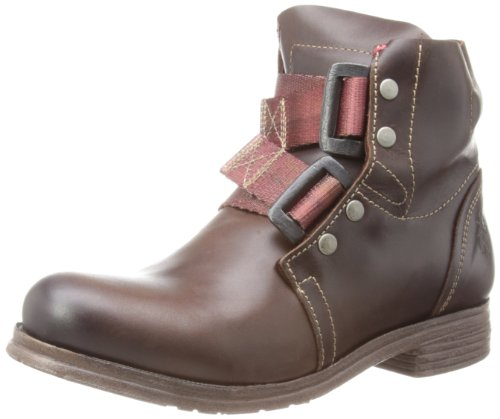Fly London Womens Ska Dark Brown Biker Boots P142122014 4 UK, 37 EU