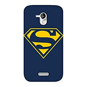 Premier Yellow Day Back Case Cover for Micromax Canvas HD A116