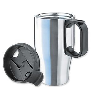 Isosteel VA-9572 Mug à thé isotherme 0,4 Litre avec Couvercle