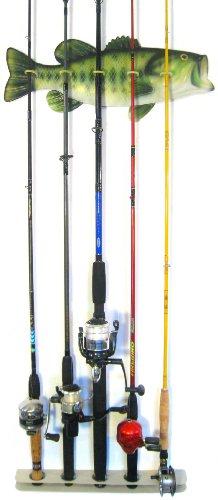 Bass Fishing Rod Rack