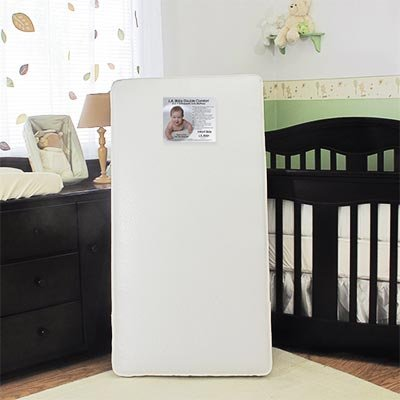 L.a. Baby Double Comfort 2-in-1 Orthopedic Crib Mattress