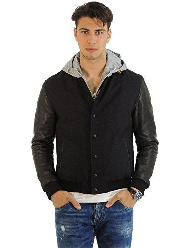 Low Brand cappotto uomo LBG1310 (M, NERO)