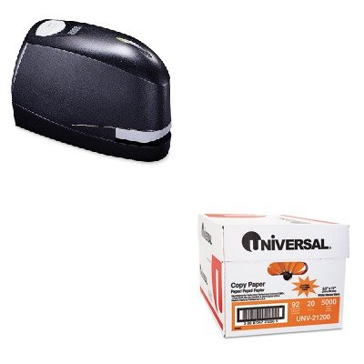 Kitbosb8Evalueunv21200 - Value Kit - Stanley Bostitch B8 Heavy-Duty Electric Stapler Value Pack (Bosb8Evalue) And Universal Copy Paper (Unv21200)