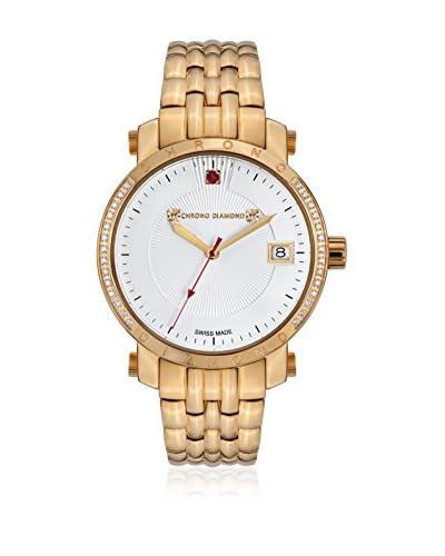 Chrono Diamond Reloj con movimiento cuarzo suizo Woman 10610J Nesta 35 mm