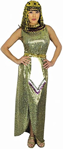 Adult Sequin Cleopatra Costume (Size: X-Large 14-16)