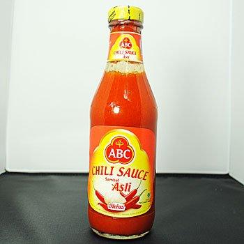 ABC サンバルアスリ 340ml (HALAL ハラル 認定商品 インドネシア 激辛チリソース)